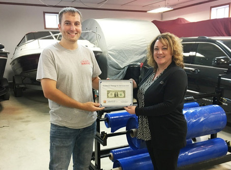 Swanson Storage and Services receives First Dollar
