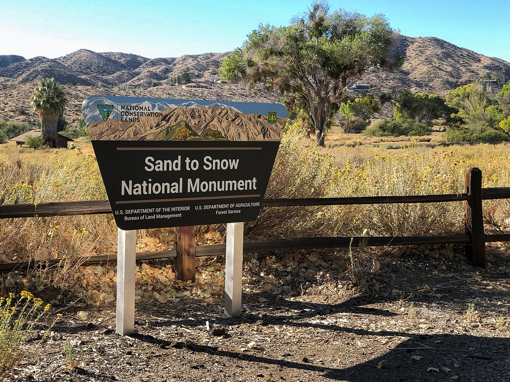 Sand and Snow National Monument