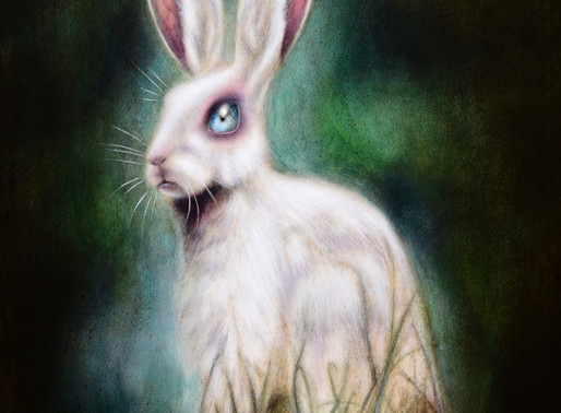 The Hare and the Bride Painting by Tiago Azevedo