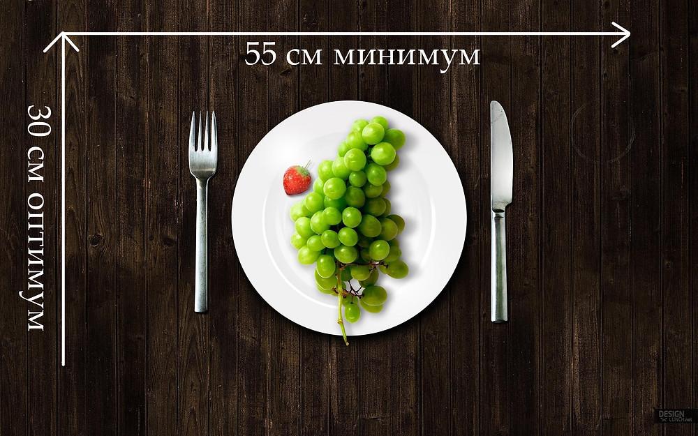 Как выбрать размер стола