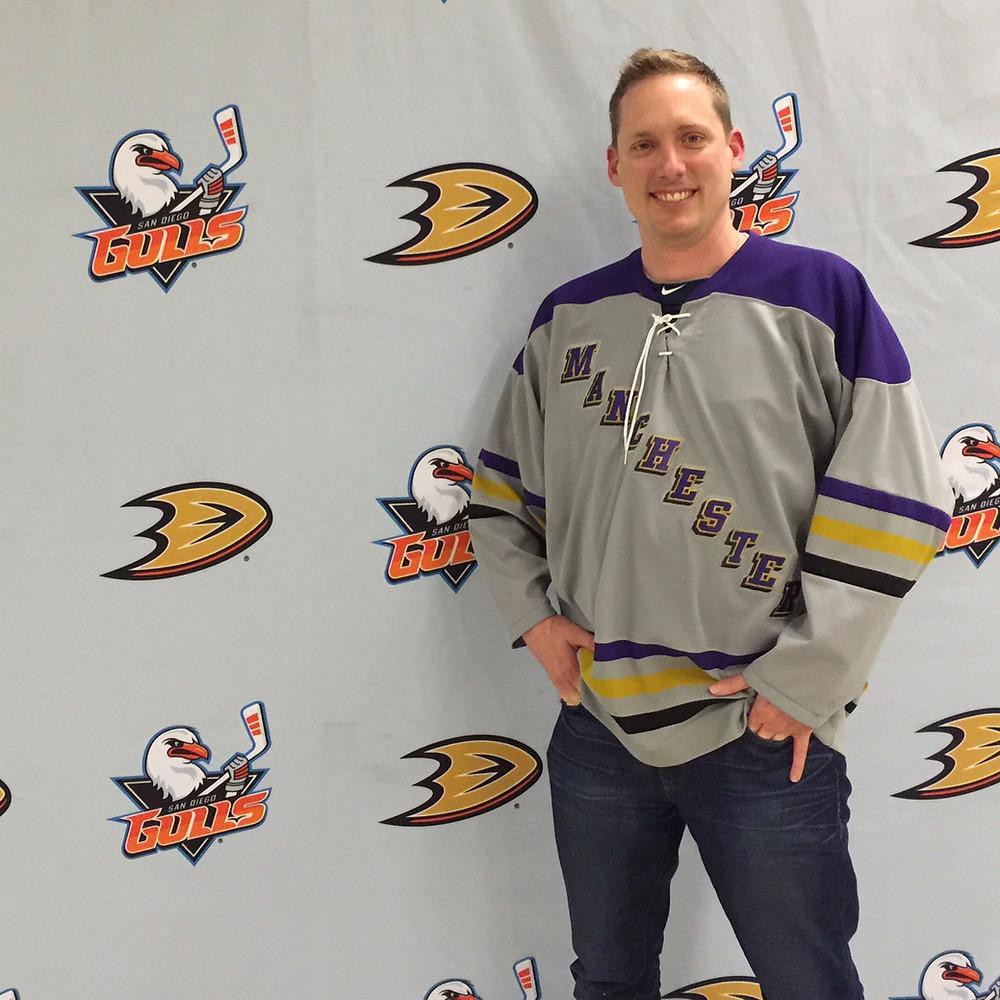 San Diego Gulls Anaheim Ducks Alex Miniak
