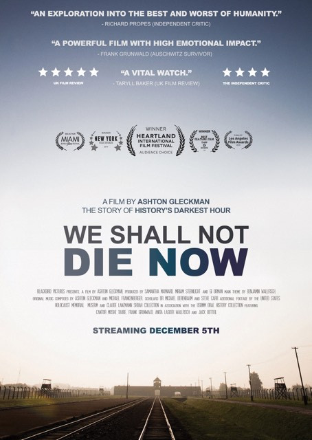We Shall Not Die Now movie poster