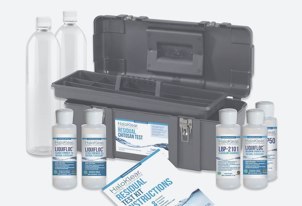 chitosan residual test kit