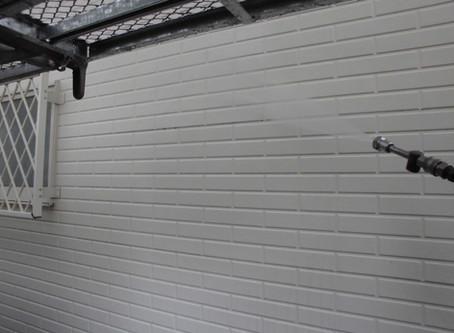 川越市S様邸外壁塗装工事が始まりました!!