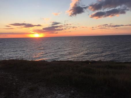 Sonnenuntergang - tramonto