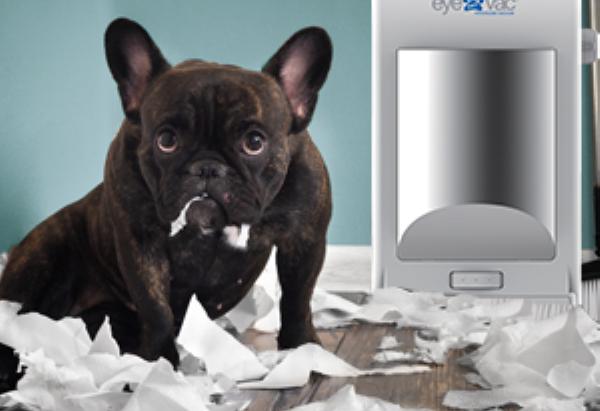 EyeVac Pet Touchless Vacuum - Stationary Vacuum for Pet Hair & Dirt/Dust