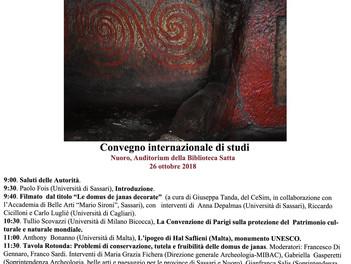 Domus de Janas decorate: Patrimonio dell'Umanità?