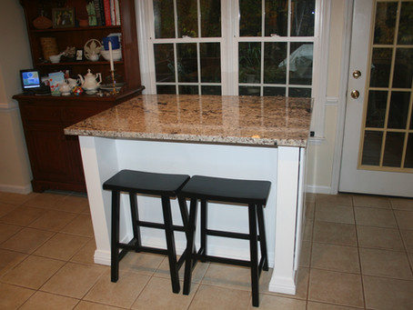 Rolling Custom Kitchen Island