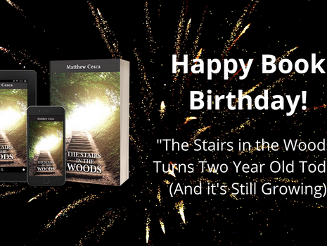 "Happy Book Birthday to ""The Stairs in the Woods"""