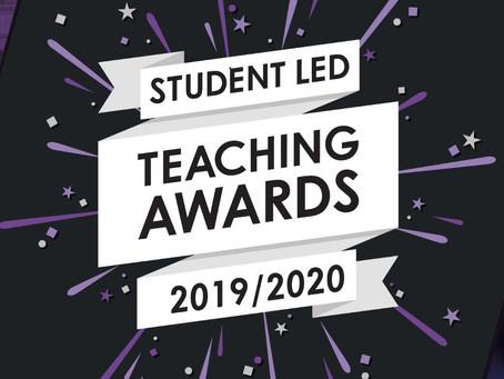 Student Led Teaching Awards 2019/20