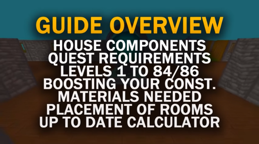 Guide To Maxing Your House Osrs The quest point cape (often referred to as quest cape, qc or qpc) can be obtained by players who have completed all quests and achieved 269 quest points. guide to maxing your house osrs