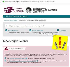 LDC Crypto SCAM