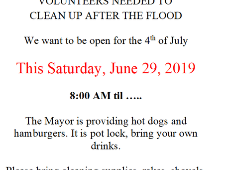 Ballpark Cleanup this Saturday