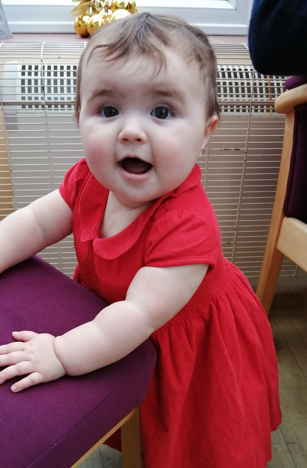 M&S Red Cord Dress