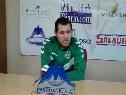 Declaraciones de Nito Alonso tras el CP Villarrobledo 2 Marchamalo 0