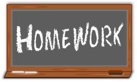 Year 1 Homework