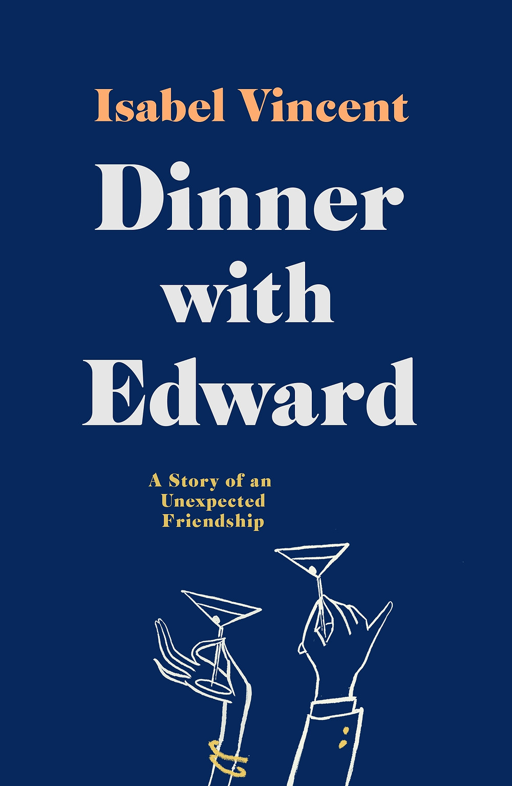 Dinner with Edward by Isabel Vincent : the book slut book reviews thebookslut pushkin press