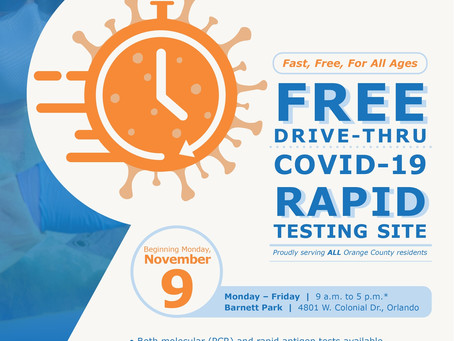 FREE COVID-19 TESTING / PRUEBAS DE COVID-10 GRATIS