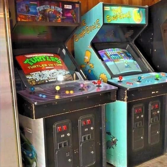Teenage Mutant Ninja Turtles 2 Turtles in Time and The Simpsons Arcade