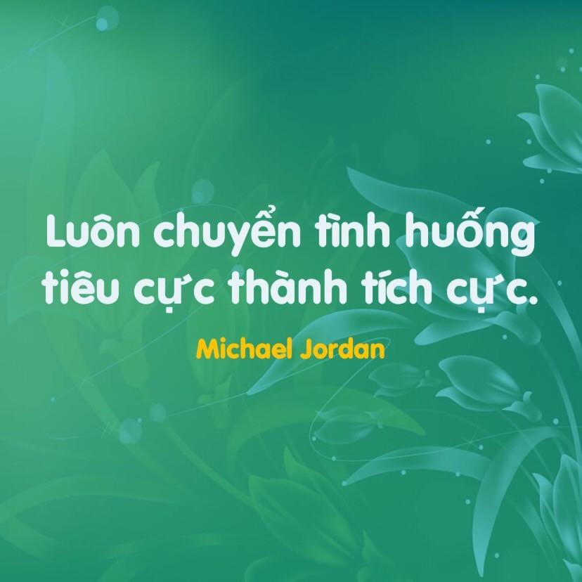 Suy nghĩ tích cực Michael Jordan