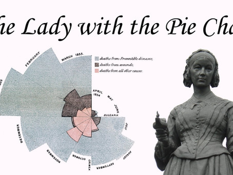 Florence Nightingale 'the lady with...' an illuminating pie chart
