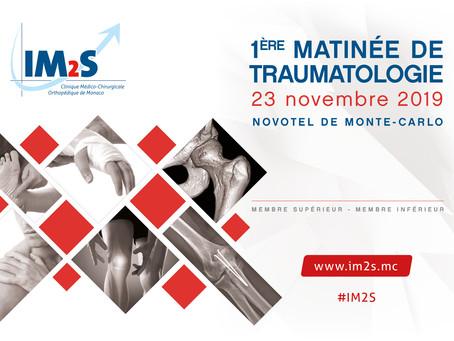 1ère MATINÉE DE TRAUMATOLOGIE 23/11/2019