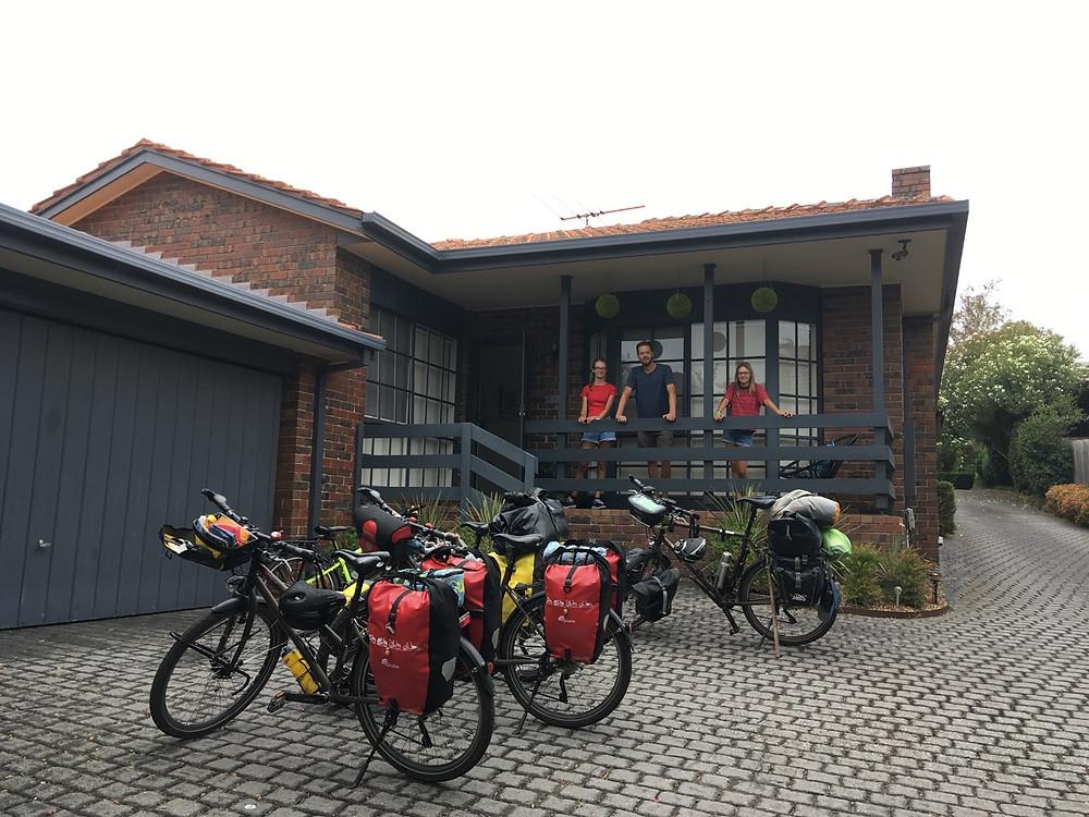 Tour du monde à vélo en famille Melbourne Australie