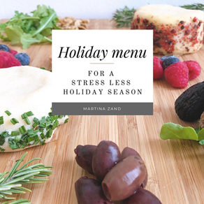 The Holiday Menu ebook is here - and for a limited period of time it is completely free!
