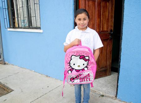 Lila's school supplies