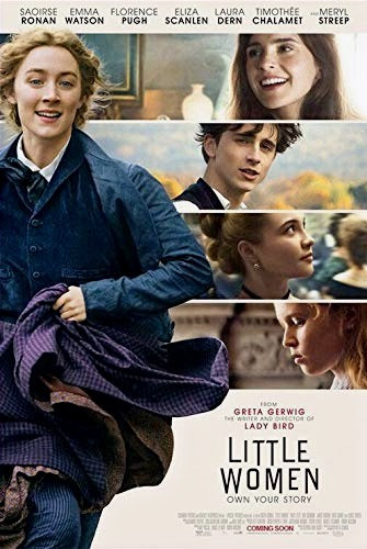 Little Women dvd poster cover Louisa May Alcott Greta Gerwig director with Saoirse Ronan, Emma Watson, Florence Pugh, Meryl Streep