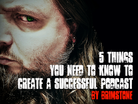 5 Things You Need To Know To Create A Successful Podcast