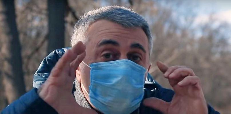 Лікар Комаровський розповів про простий спосіб дезінфікувати маску
