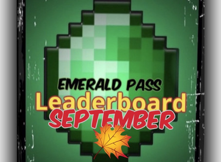 "MMG ""Emerald Pass"" Leaderboard UPDATE"