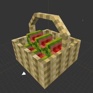 More Blox Minecraft Mod Melon Basket