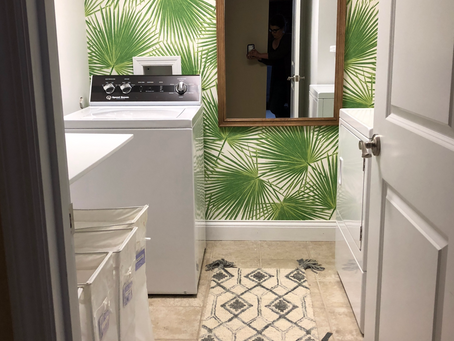 Small Laundry Room That's Big On STYLE