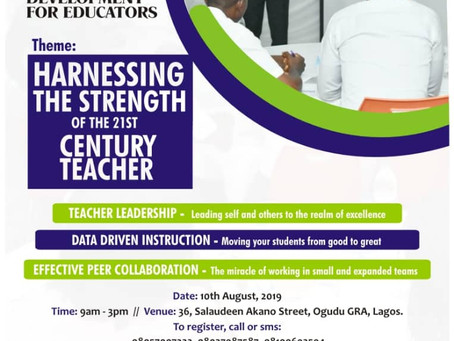 Harnessing the Strength of the 21st Century Teacher