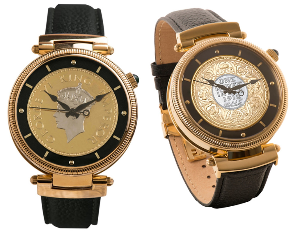 These are the magnificent coin watches produced by Jaipur Watch Company