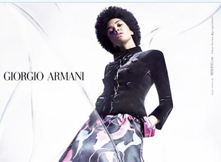 Modelo luso-angolana Elsa Baldaia junta-se à família Armani