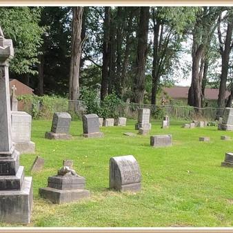 William & Catharine McGinnis in Saint Patrick's Cemetery (video)