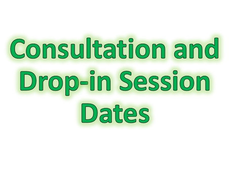 Consultation and Drop-in Session Dates
