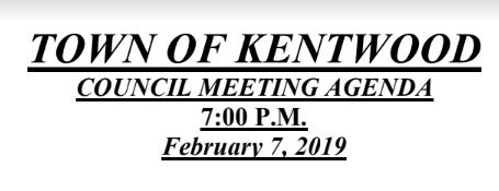 View the February 2019 Meeting Agenda