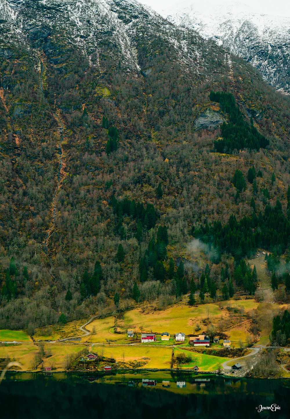 Fjærlandsfjorden, Norway, Norway fjords, Things to visit in Norway, Norwegian landscape