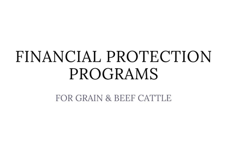 Agricorp Financial Protection Programs
