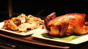 Zdravě pečené kuře s oblíbenou nádivkou