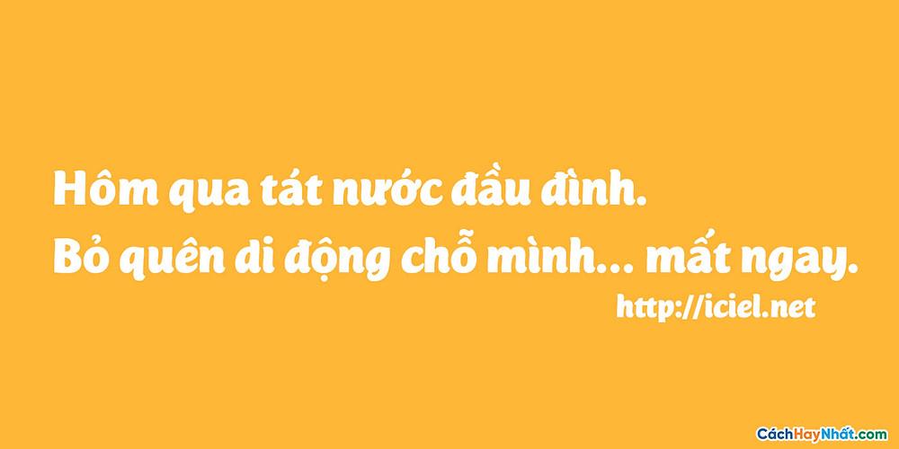 Font Chữ iCiel Mijas Việt hóa