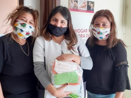 El Centro Cultural La Peña confecciona más de 100 mascarillas para ir en ayuda de la Comunidad