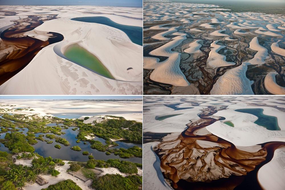 désert blanc des Lençóis Maranhenses
