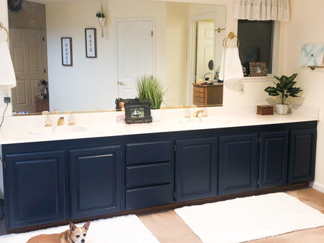 Updating your Bathroom Vanity without Breaking the Bank