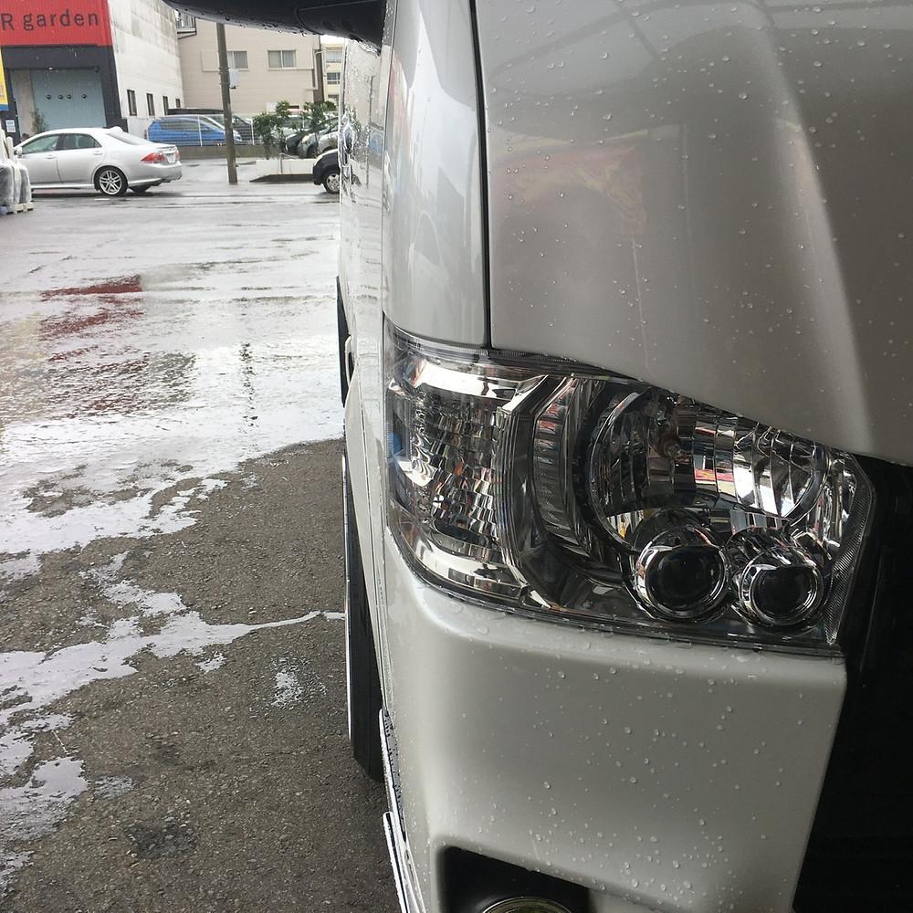 トヨタ 200系 ハイエース カスタム FABUROUS BORONE XR-6 ファブレス ヴァローネ 18インチ 9.5J レジアスエース ロンシャン