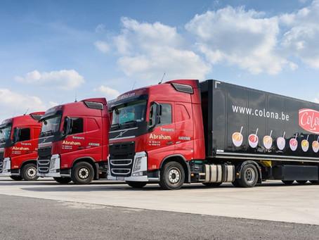 Connectic équipe les remorques des Transports Abraham de balises GPS (Logistic in Wallonia)